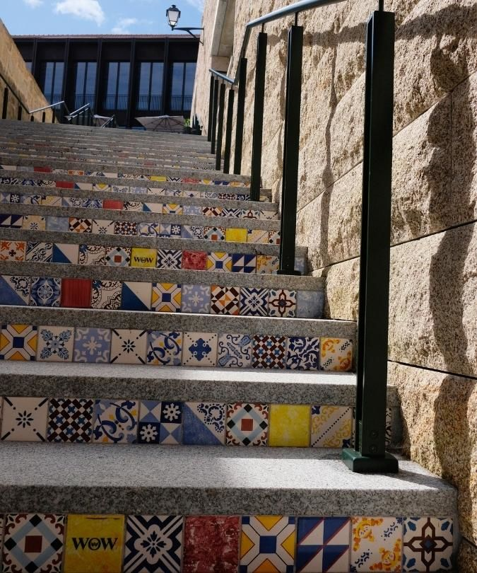 Tiled steps WOW