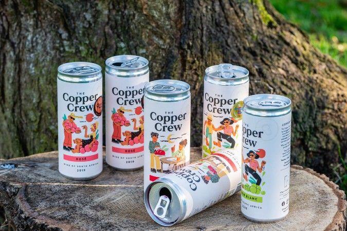 copper crew canned wine range