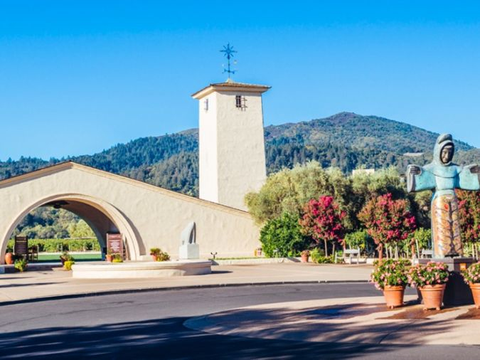 Mondavi wine estate