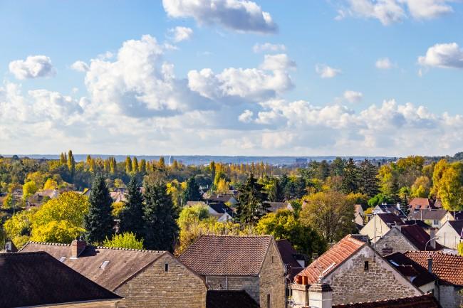 City view of Auvers-sur-Oise