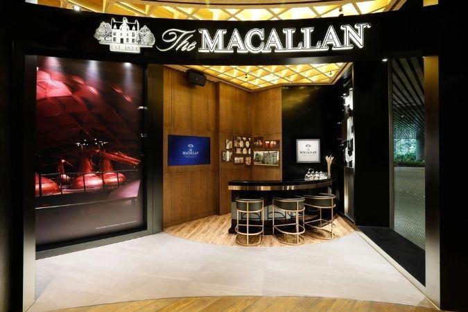 Macallan whisky boutique –travel