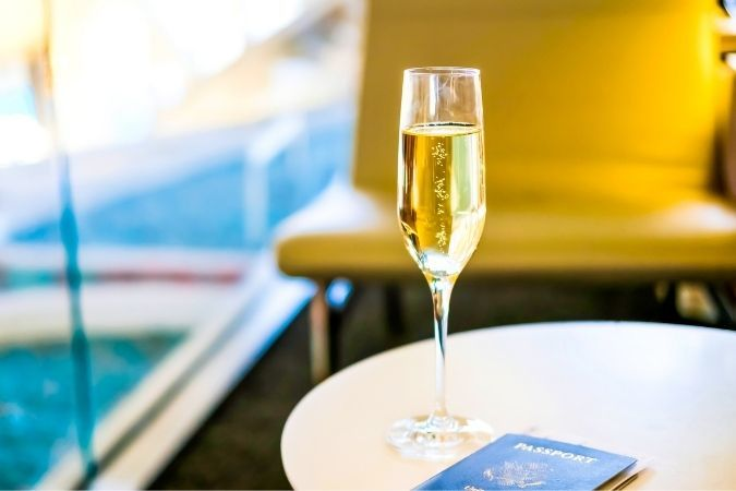 Business lounge – travel