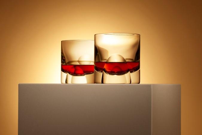 whisky tumblers designed by david adjaye