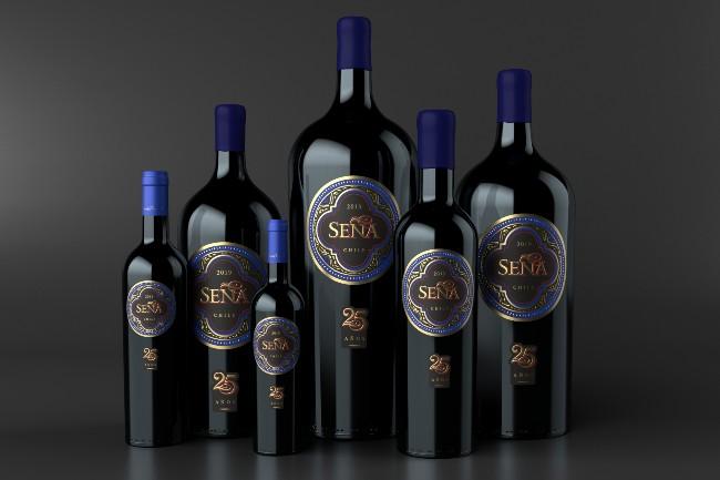 Seña wine formats (2019)