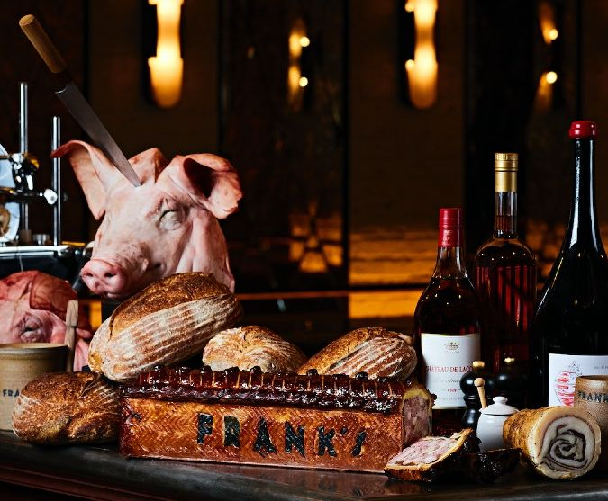 frank's wine bar in london