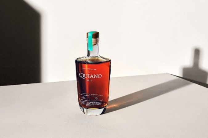 Equiano rum bottle