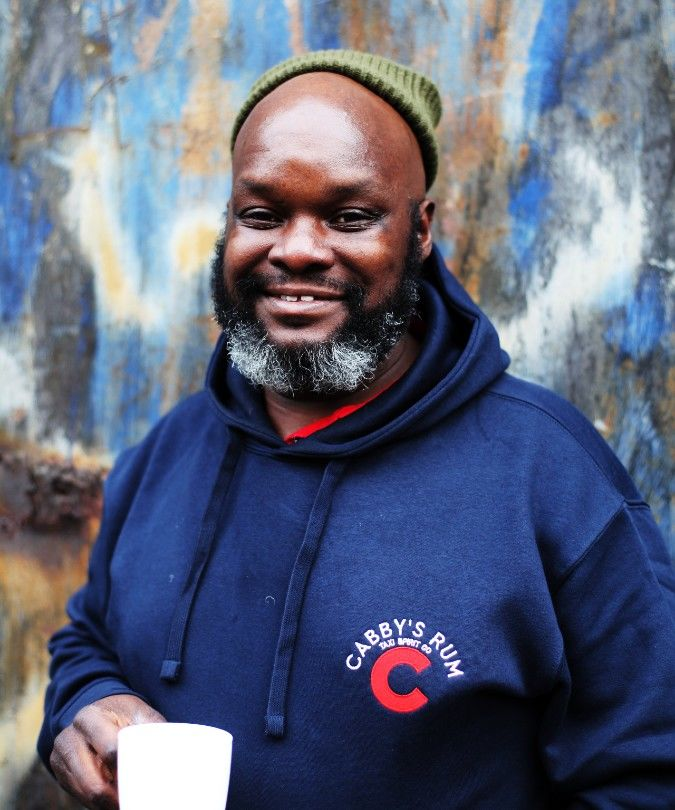cabby's rum founder Moses Odong