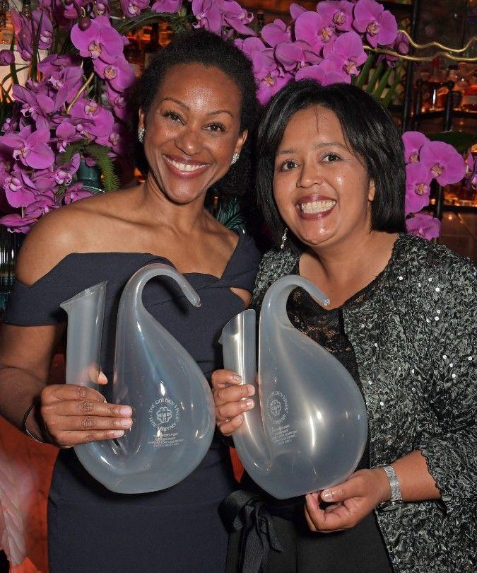 Golden Vines scholarship winners Erna Blancquaert and Angela Elizabeth Scott