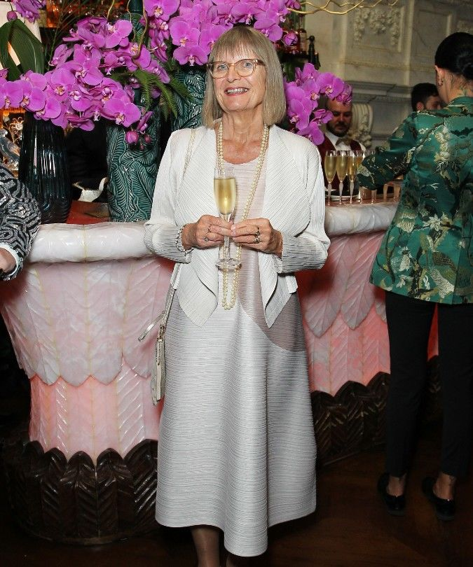 jancis robinson attending the Golden Vines awards
