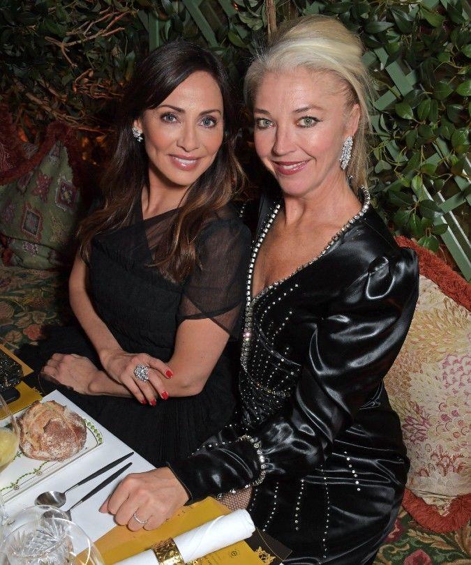 natalie imbruglia and tamara beckwith at the golden vines awards