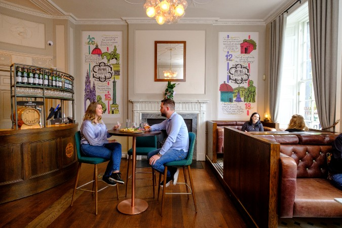 scotch malt whisky society's kaleidoscope bar in edinburgh