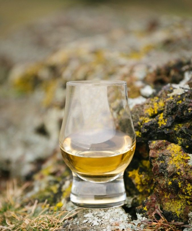 Holyrood Distillery's whisky on the hills of Arthur's Seat in Edinburgh