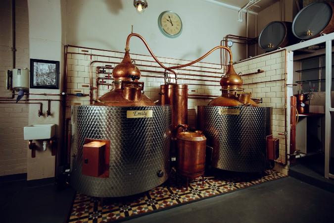 Pickering's summerhall distillery