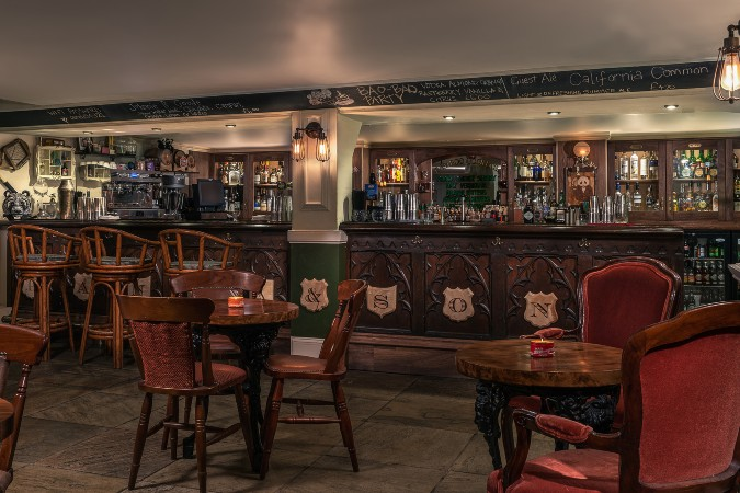 panda & sons bar in edinburgh